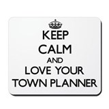 Town planner Mouse Pads