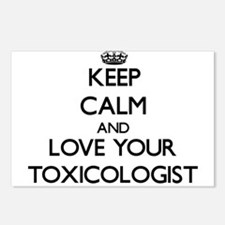 Keep Calm and Love your Toxicologist Postcards (Pa