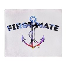 First Mate Throw Blanket