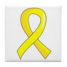 Spina Bifida Ribbon3 Tile Coaster