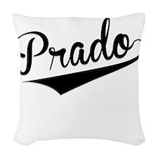 Prado, Retro, Woven Throw Pillow