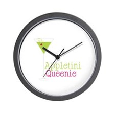 Appletini Queenie Wall Clock