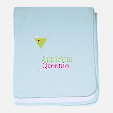 Appletini Queenie baby blanket