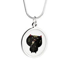 Black Sushi Cat Necklaces