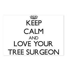 Keep Calm and Love your Tree Surgeon Postcards (Pa