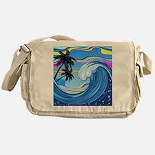 Ocean Wave Messenger Bag