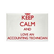 Keep Calm and Love an Accounting Technician Magnet