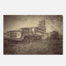 Farm Truck And Grain Elevator Postcards (Package o