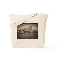 Farm Truck And Grain Elevator Tote Bag