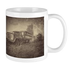 Farm Truck And Grain Elevator Mugs