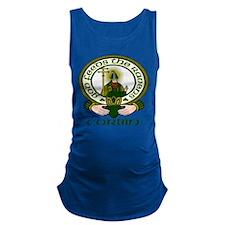 Corbin Clan Motto Maternity Tank Top