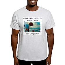 Hurricane Charley 2004 Ash Grey T-Shirt