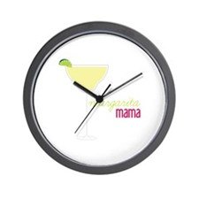 margarita mama Wall Clock