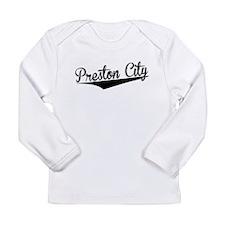 Preston City, Retro, Long Sleeve T-Shirt