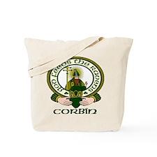 Corbin Clan Motto Tote Bag