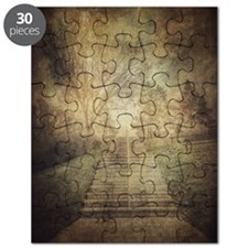 Stairs in the park Puzzle
