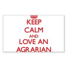 Keep Calm and Love an Agrarian Decal