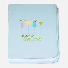 we call it book club! baby blanket