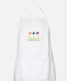 gardening is cheaper than therapy Apron