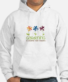 gardening is cheaper than therapy Hoodie