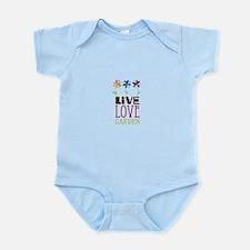 Live Love Garden Body Suit