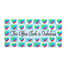 Office Clerk Beach Towel