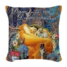 Dreams Woven Throw Pillow