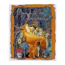 Dreams Throw Blanket