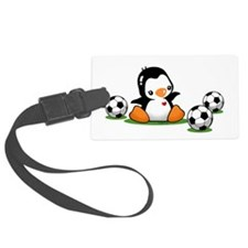 I Love Soccer (7) Luggage Tag