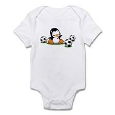 I Love Soccer (7) Infant Bodysuit