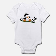 I Love Soccer (7) Infant Bodysuit