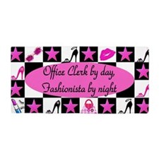 Office Clerk Shoes Beach Towel