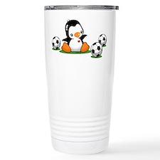 I Love Soccer Travel Mug