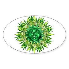 Marijuana Sunshine Decal