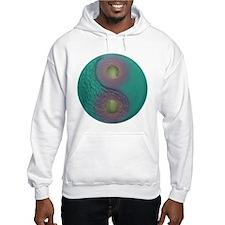 Yin Yang Tao Optic Rainbow Hoodie