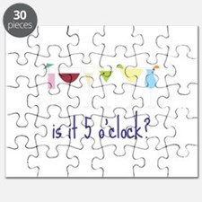is it 5 o'clock? Puzzle