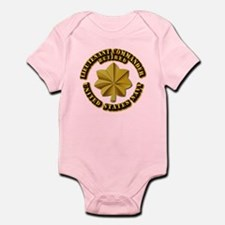 Navy - Lieutenant - O-3 - w Text Infant Bodysuit