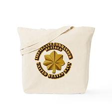 Navy - Lieutenant - O-3 - w Text Tote Bag