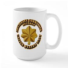 Navy - Lieutenant - O-3 - w Text Mug
