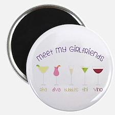 meet my GiRLfRiends Magnets