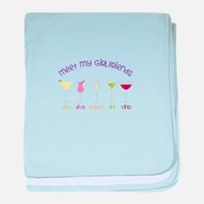 meet my GiRLfRiends baby blanket