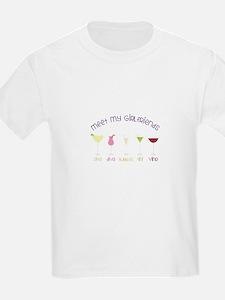meet my GiRLfRiends T-Shirt