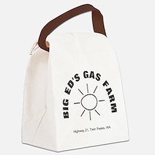 Big Ed's Gas Farm - Twin Peaks Canvas Lunch Bag