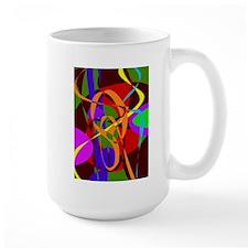 Irregular Abstract Forms and Lines Mugs