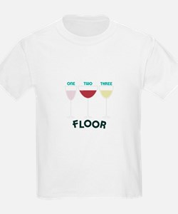 OnE Two THREE FLOOR T-Shirt