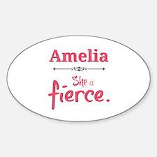 Amelia is fierce Decal
