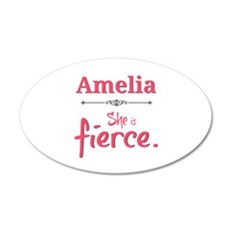 Amelia is fierce Wall Decal