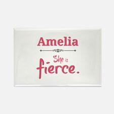 Amelia is fierce Magnets