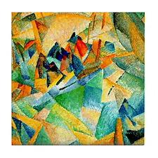 Leo Gestel - Mallorca Harbour Tile Coaster