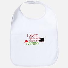 I Dont Need Santa Bib